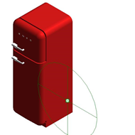 Refrigerators FAB30RFR - Posição das dobradiças: Dobradiças à direita - bim