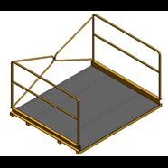 Plataforma voladizo - bim