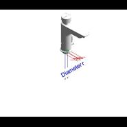 Grifo temporizado mezclador: PRESTO XT LM PA - bim