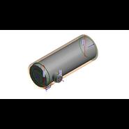 Té 2*93° aluzinc A90° - 1000 mm - Double débouchure - bim