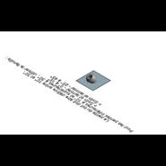 Solin Plomb + Larmier - 10° à 30° - bim
