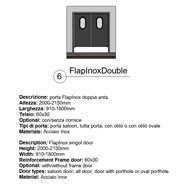 FlapInox_Double - bim