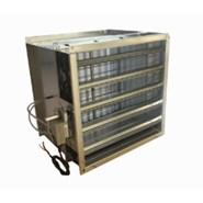 Variable air flow regulator RRVS - bim