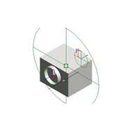 Centrifugal fan cabinet - bim