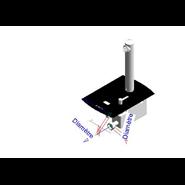 Grifo eléctronico para lavabo: PRESTO DOMO SENSIA - PM con Alimentador 12V Negro - bim