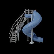 Vortex Commercial Water Slide - bim