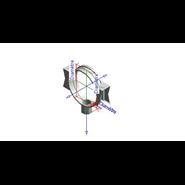 Simple Bracket RR63 L8 - NPT - bim