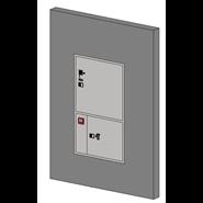 Coffre sécurité incendie type A - bim
