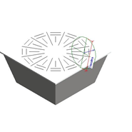 Diffuseur Hélicoïdal pour Plafond Modulaire -DRPL - bim