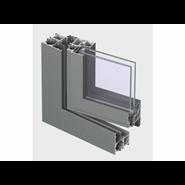 ES 50 Window outward opening double vent 105mm - bim