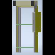 RVRAMC3 - Avvolgibile - VMC Incasso - Porta - bim