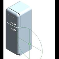 Refrigerators FAB30LV1 - Posição das dobradiças: Esquerda - bim