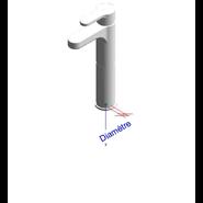 ZIP - Monomando lavabo alto repisa - bim