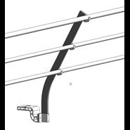 Barrial sabot Z-M60 coudé 30° - bim