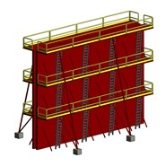 Sistema de encofrado modular  - bim