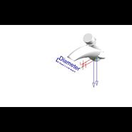 Grifo temporizado mezclador: PRESTO ARTE - LM - bim