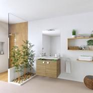 Meuble salle de bain PMR Declips INFINITI Portes - bim