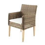 Garden sofa and armchair Saint Raphael - bim