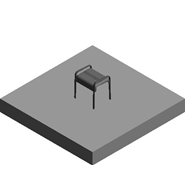 ARSIS shower stool, grey - bim