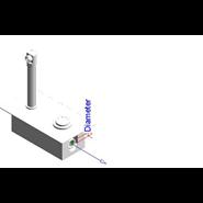 Wall-mounted washbasin tap: PRESTO XT 2000 - P Cromo - bim