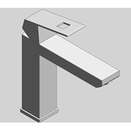 Eurocube - Single Lever Basin Mixer M-Size - bim