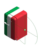 Refrigerators FAB10HRIT - Posição das dobradiças: Dobradiças à direita - bim