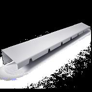 Bandeau de faîtage à rejet oblique h40 - bim