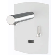 Grifo eléctronico para lavabo: PRESTO DOMO SENSIA - PM con Alimentador 12V Blanco - bim
