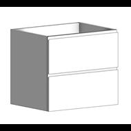 Mueble de 2 cajones Soller con recorte sifón - bim
