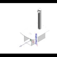 Grifo eléctronico para lavabo: PRESTO DOMO SENSIA - P con Alimentador 12V 2 Cromo - bim