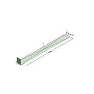 LMT-MISS (Reduced frame linear grilles at 15) - bim