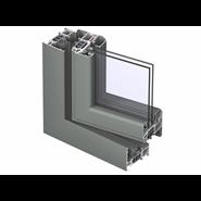 CS 77 Window outward opening double vent 76mm - bim