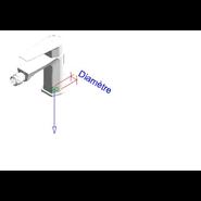 AROHA - Bidet tap mixer - bim