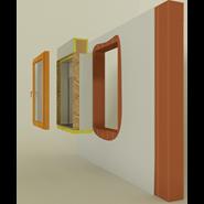 RVRFMC3 - Frangisole VP90 - Porta - bim