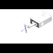 Grifo eléctronico para inodoro: PRESTO DOMO SENSIA - I con Pila 6V Blanco - bim