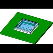 Roof velux window - bim