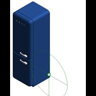 Refrigerators FAB32LPKNA1 - Posição das dobradiças: Esquerda - bim