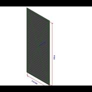 DMT-X (External grilles - Blade 25) - bim