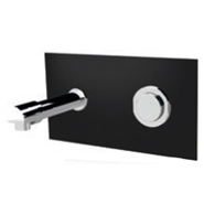 Wall-mounted washbasin tap: PRESTO XT 2000 - P Black - bim