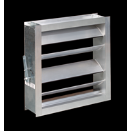 SQR (Air volume dampers for rectangular ducts) - bim