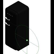 Refrigerators FAB30LFN - Posição das dobradiças: Esquerda - bim