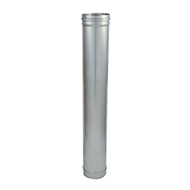 Elément droit aluzinc - 1000 mm - bim