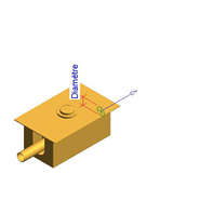 Fluxor temporizado: PRESTO XT IE 2D Con llave de paso - bim
