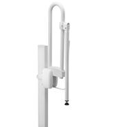 Adjustable support prop for hinged bar - bim