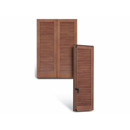 Aurora - French window - 2 Shutters - bim