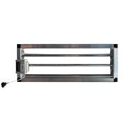 Motorized rectangular duct damper-CPRC MTE - bim