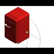 Refrigerators FAB10RR - Posição das dobradiças: Dobradiças à direita - bim