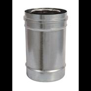 Elément droit aluzinc - 250 mm - bim