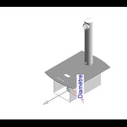 Electronic tap basin: PRESTO DOMO SENSIA - P with battery CR-P2 Stainless - bim