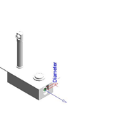 Wall-mounted washbasin tap: PRESTO XT 2000 - P Inox - bim